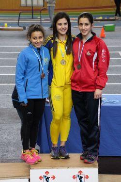 Adriana Ferreiro, bronce en 400m y 800m JUV