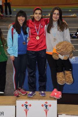 Paula Freiría, oro en triple JUV