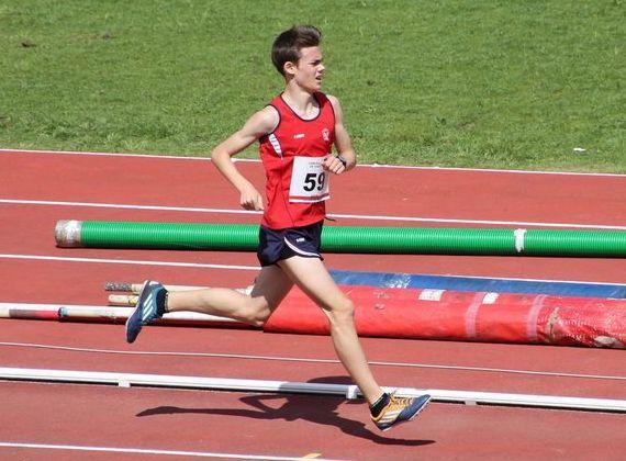 Jesús Álvarez Teijeiro, en los 3000 metros