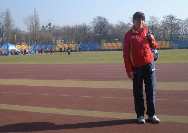 Emlia Mesa, durante el Europeo PC de Torun de este año