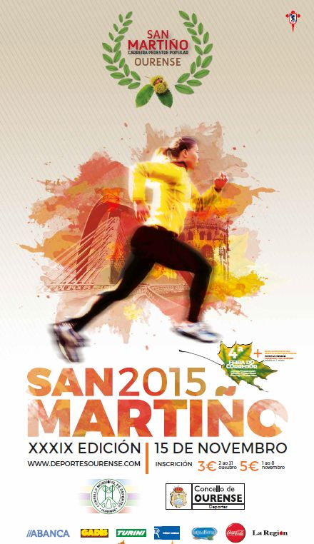 Cartel San Martiño 2015