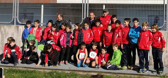 Foto de grupo de nuestros chicos en Vigo